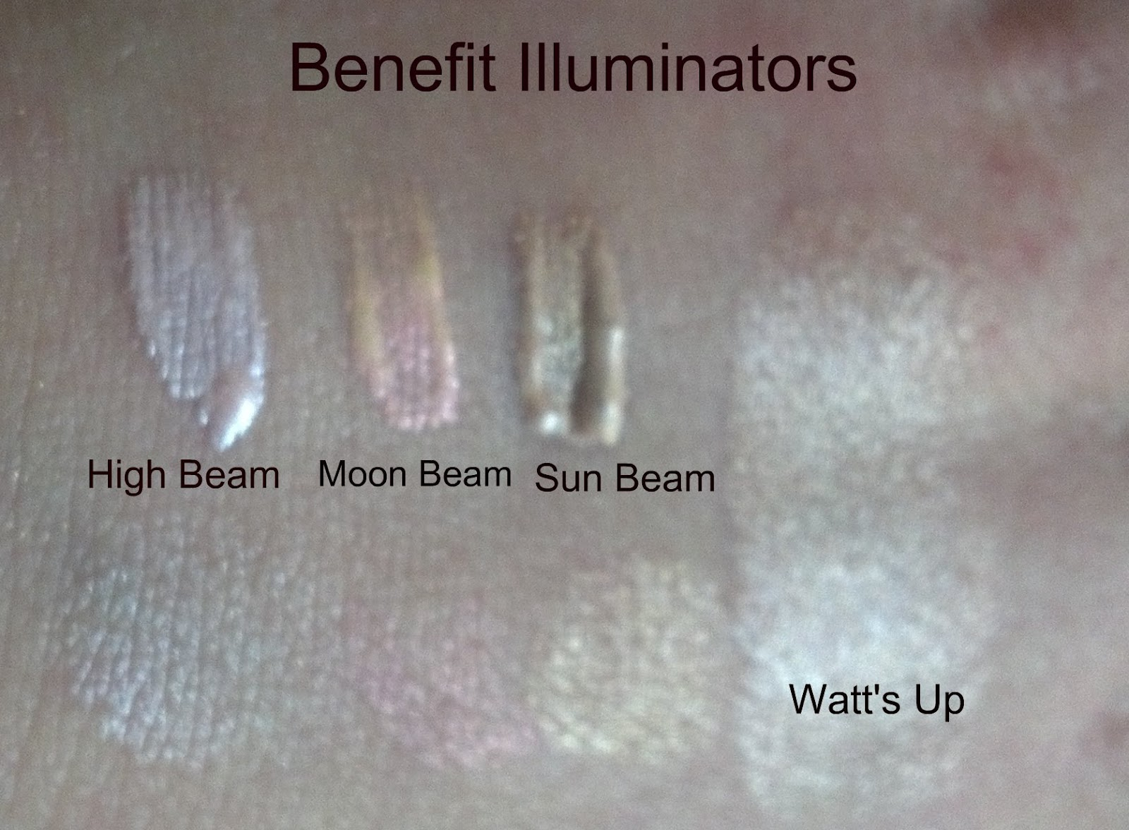 Benefit highlighters