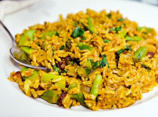 Curried Basmati Rice