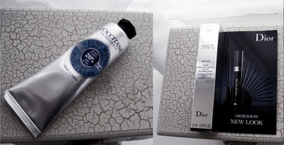 Diorshow New Look Mascara and L'Occitane Hand Cream review