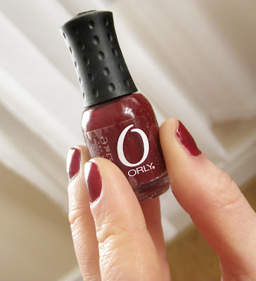 Orly Nail Polish in Ruby