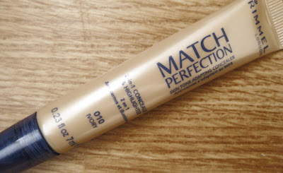 Rimmel Match Perfection Concealer review
