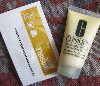 Skincare products review Clinique  and  Invisible Zinc
