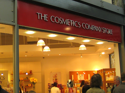 The Cosmetics Company Store.